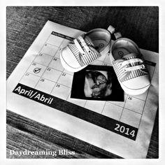 Ideas para anunciar el embarazo ecografía sobre un calendario en www.madreyblogger.com