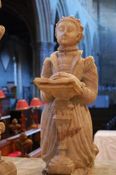 Elizabeth Manners on Tomb of 2nd Earl of Rutland, St Mary's Bottesford