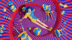"designboom sur Twitter : ""sagmeister&walsh channels psychedelia for aïzone's…"