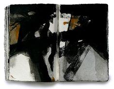 Miklós Szüts: diary 1944 (10), aquarell, paper, 21 x 31 cm