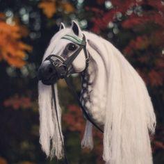 EPN Scheherazade ox Cross Stitch Horse, Winter Horse, Crochet Horse, Stick Horses, Clay Cats, Unicorn Horse, Horse Pattern, Barrel Horse, Brown Horse