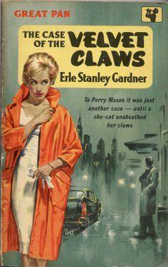 Sam Peffer: The Case of the Velvet Claws by Erle Stanley Gardner / Pan G398, 1960