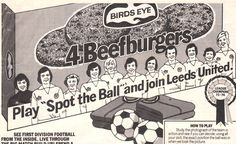 Leeds United Spot the Ball Beefburgers