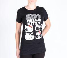 KISS x Hello Kitty Jrs Tee: Four