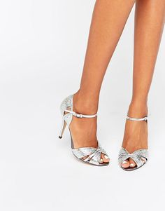 True+Decadence+Silver+Heeled+Sandals