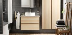 Tu aliado para tener ordenado el baño es una buena elección de colores que se encargarán de delimitar cada zona.