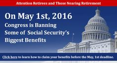 """Some changes are coming to Social Security on 1 May 2016, but they are not major ones that """"threaten the financial security"""" of millions of Americans."""