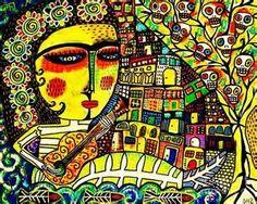 Sixteen Woman by Sandra Silberzweig