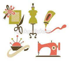 Ser um designer, feitas à mão e artesanato — Ilustração de Stock #23392354