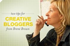 Brené Brown is a brilliant researcher/speaker. So cool to see her pop up on the Braid Creative. Two Tips for Creative Bloggers from Brené Brown | Braid Creative.