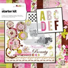 I wish this wasn't a digital kit. What's the point of scrapbooking without playing with the paper?!
