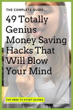 49 Easy Ways To Save Money: The Ultimate List For Cutting Back Ways To Save Money, Money Tips, How To Make Money, Money Saving Mom, Earn Money From Home, Thing 1, Budgeting Finances, Money Matters, Money Management