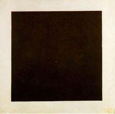 Kasimir Malevich, Black Square, 1913 - ¿Puede exister algo más bello que la pintura en su estado más puro?