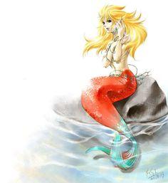Saint Seiya Mermaid Thetis