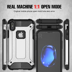 Luxury Armor Full Phone Case For iPhone X 8 6 6s 7 Plus PC+Silicone Soft Shockproof Back Case For iPhone 7 8 Plus X Case Cover  Price: 8.99 & FREE Shipping  #computers #shopping #electronics #home #garden #LED #mobiles #rc #security #toys #bargain #coolstuff |#headphones #bluetooth #gifts #xmas #happybirthday #vr Iphone 7, Iphone Cases, 7 Plus, Zero Waste, Vr, Mobiles, Mobile Phones, Apple Watch, Computers