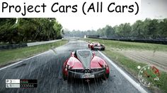 Project Cars (Cars List)