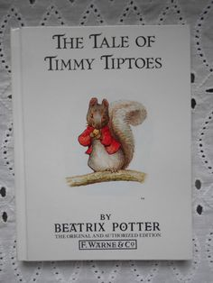 The Tale of Timmy Tiptoes by Beatrix Potter hardcover 1989 by MarginaliaBooks on Etsy