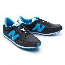 Zapatilla  New Balance 410 Negra-Azul