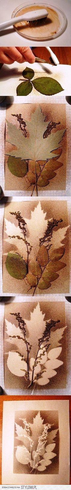 Leuk om zelf een herfst schilderij te maken op canvas!
