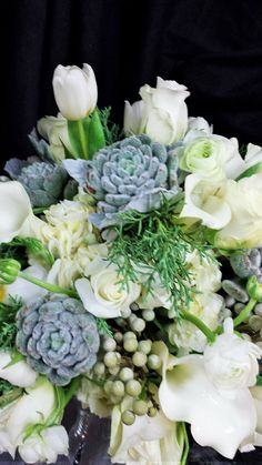 Succulents and Soft Whites