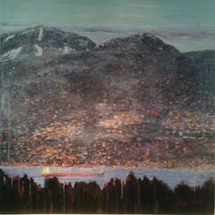 Michael Abelman: View 4 -Early evening SOLD