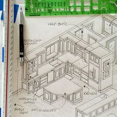 #breakarchproject #kitchendesign #interiorsketch #interiordesign #interiordesigner #interiorarchitecture #customcabinets #millwork