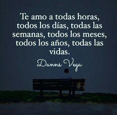 Te amo como a nadie....