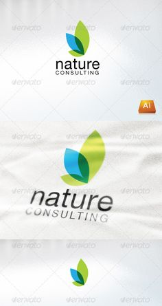 Nature Consulting — Vector EPS #professional #leaf • Available here → https://graphicriver.net/item/nature-consulting/861156?ref=pxcr