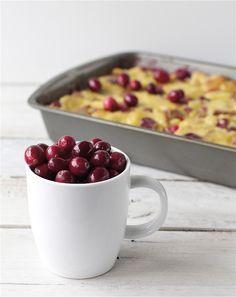 Cranberry Orange Bread Pudding recipe | Bright Bold and Beautiful
