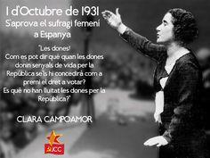 Aniversari de l'aprovació del vot de la dona a Espanya by Joventut Comunista de Catalunya (JCC)