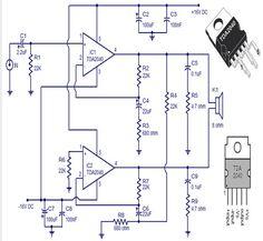 30 Watts Audio Amplifier Circuit.