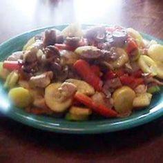 Garden Chicken Stir Fry