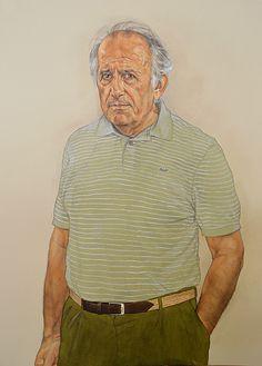 Portraits | Riccardo Mannelli Watercolor Portraits, Shirt Dress, Mens Tops, Shirts, Style, Fashion, Art, Swag, Moda