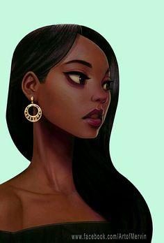 "art-of-cg-girls: "" New Work by Mervin Kaunda "" Cartoon Draw Illustration Character Dibujo Ilustración Personaje Female Character Design, Character Design Inspiration, Character Art, Character Concept, Black Girl Art, Black Women Art, Character Illustration, Illustration Art, Art Illustrations"