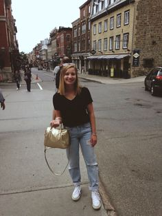 Street style - Old Quebec City