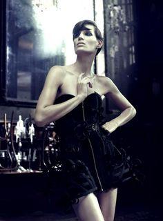 Iris Strubegger by Alexi Lubomirski for Vogue Germany