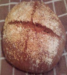 Ζυμωτό+ψωμί+με+αλεύρι+ζέας+#sintagespareas