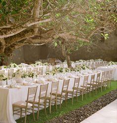 Bali wedding under the trees by Lisa Vorce