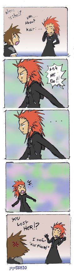KH II Spoof: misplaced by jojo56830