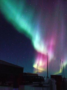 Aurora at Churchill, Manitoba, Canada