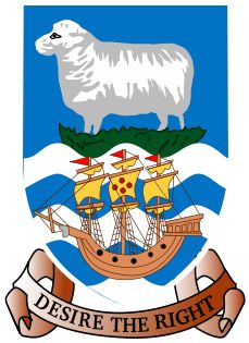 Coat of arms of the Falkland Islands (UK)