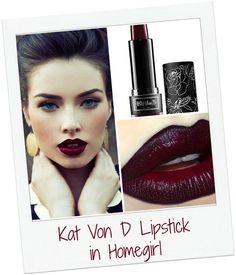 Kat Von D Lipstick in Homegirl | Community Post: 10 Lipsticks That Will Single-Handedly Change Your Life This Winter