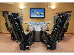The Phantom Bar features real ejection seats for $225,000