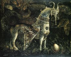 Yesterday I came across the work of Leonora Carrington for the first time. She was a surrealist, the muse of Max Ernst, a painter and author...
