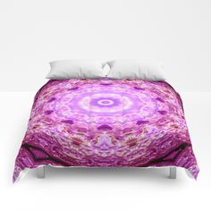 Pink Fractal Abstract - $99  Pink Fractal Abstract by Madklash  DESCRIPTION Our comforters are cozy, lightweight pieces of sleep heaven. Designs are printed onto 100% microfiber polyester fabric for brilliant images and a soft, premium touch. Lined with fluffy polyfill and available in king, queen and full sizes. Machine washable with cold water gentle cycle and mild detergent. #bedding #comforter #blanket #bedroom #covers ART:  #Pink #Fractal #Abstract by MadClash