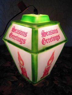Vintage Empire Coach Blow Mold Lantern 1973