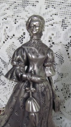 Mrs Albee  Award Avon Victorian Edwardian Lady Figurine 1991 1992 District award. $22.00, via Etsy.