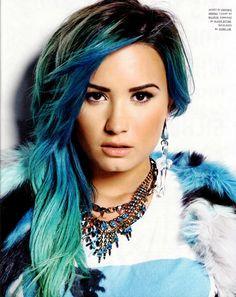 Demi Lovato for the magazine Nylon USA, January 2014