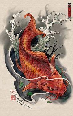 Illustrations Discover koi tattoo design - Tattoos And Body Art Koi Dragon Tattoo Tatto Koi Pez Koi Tattoo Koi Tattoo Sleeve Carp Tattoo Koi Fish Tattoo Forearm Japanese Koi Fish Tattoo Koi Fish Drawing Japanese Tattoo Designs Koi Dragon Tattoo, Pez Koi Tattoo, Dragon Koi Fish, Koi Tattoo Sleeve, Carp Tattoo, Koi Fish Tattoo Forearm, Dragon Koi Tattoo Design, Koy Fish Tattoo, Japanese Koi Fish Tattoo