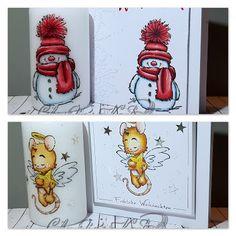 Claudia's Karteria: Süsse Weihnachtsgrüsse im Set Scrapbook, Christmas Greetings, I Card, Snoopy, Winter, Sweet, Instagram, Crafts, Character